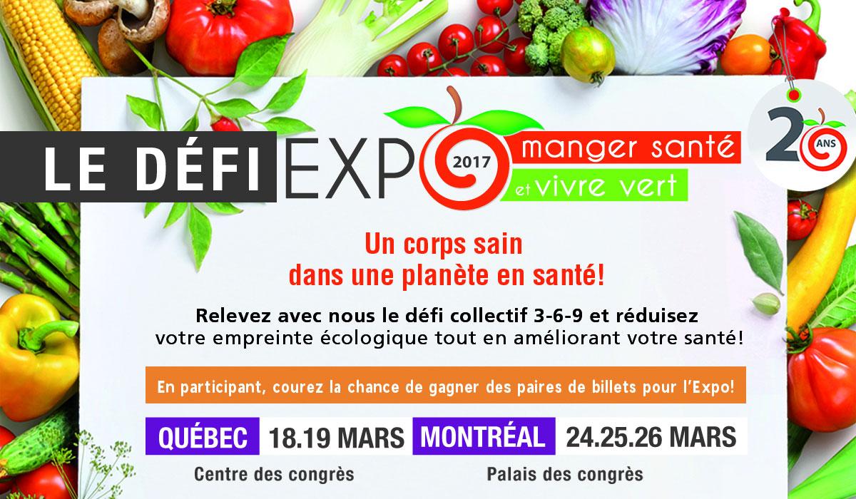 Expo manger santé et vivre vert 2017