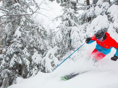 Le ski et les calories