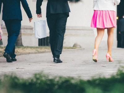 Prendre une petite marche pendant votre pause diner