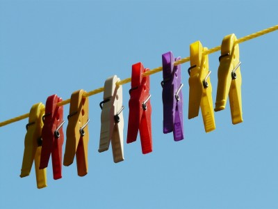 Dry Your Clothes on a Clothesline Instead of Using the Dryer