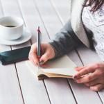 Écrivez ce pourquoi vous êtes reconnaissant ou reconnaissante