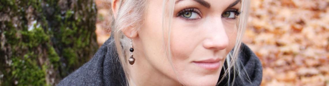 Boucles d'oreilles signées Créations Milie