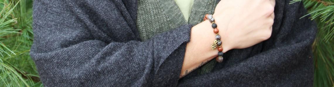 Bracelet signé Créations Milie