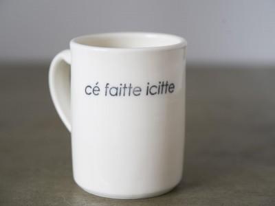 Tasse en porcelaine faite au Québec!