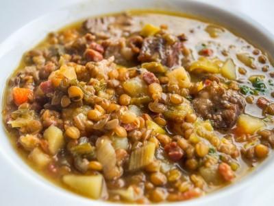 Lentilles et cuisson