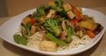 Sauté aux légumes et tofu